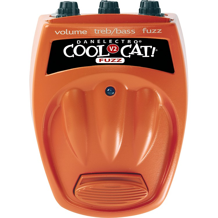 Danelectro Cool Cat Series CF-2 Cat Fuzz Guitar Effects Pedal
