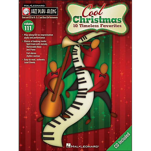 Hal Leonard Cool Christmas - Jazz Play-Along Volume 111 (CD/Pkg)