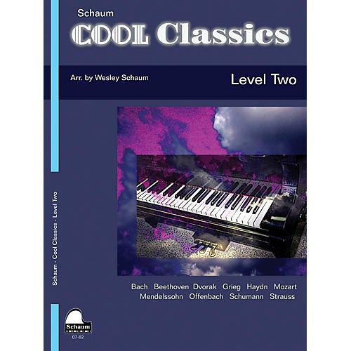 SCHAUM Cool Classics, Lev 2 Educational Piano Series Softcover