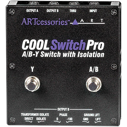 ART CoolSwitch Pro A/B-Y Switch with Isolation