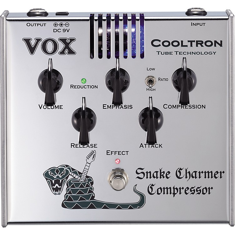 VoxCooltron CT05CO Snake Charmer Compressor Pedal