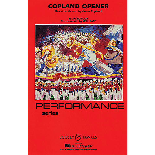 Hal Leonard Copland Opener - Full Score Concert Band Composed by Jay Bocook Arranged by Will Rapp