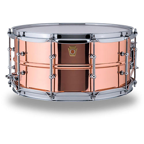 Ludwig Copper Phonic Smooth Snare Drum-thumbnail