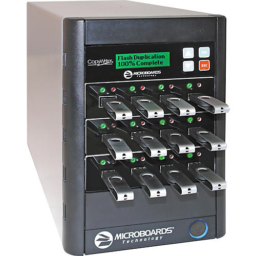 Microboards CopyWriter 1-to-11 USB Flash Duplicator