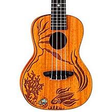 Luna Guitars Coral Solid Mahogany Concert Ukulele