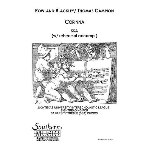 Hal Leonard Corinna (Choral Music/Octavo Secular Ssa) SSA Composed by Blackley, Rowland-thumbnail