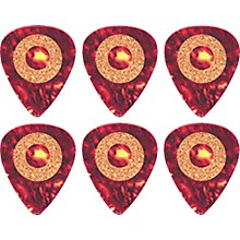 Clayton Cork Grip Standard Guitar Pick 6 Pack .50 mm