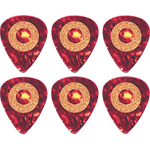 Clayton Cork Grip Standard Guitar Pick 6 Pack 1.26 mm