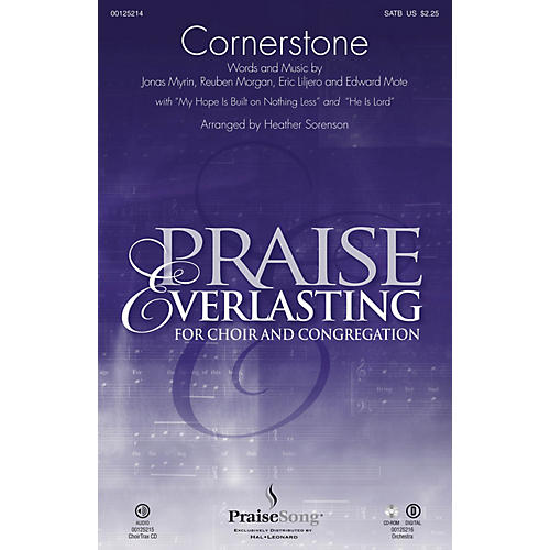 PraiseSong Cornerstone SATB by Hillsong arranged by Heather Sorenson-thumbnail