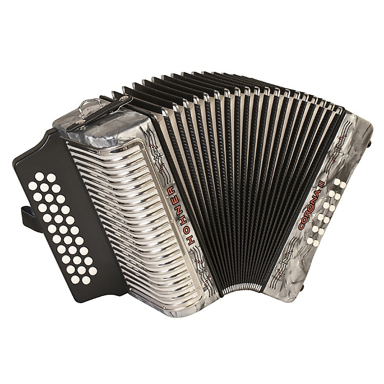 Hohner Corona II 3500 GCF Accordion Pearl Gray