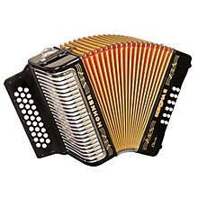 "Hohner Corona II Classic, Key of ""GCF"" Diatonic ACC Accordion"