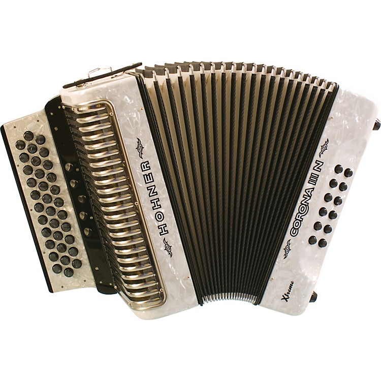 Hohner Corona IIIN Xtreme EAD Accordion Black