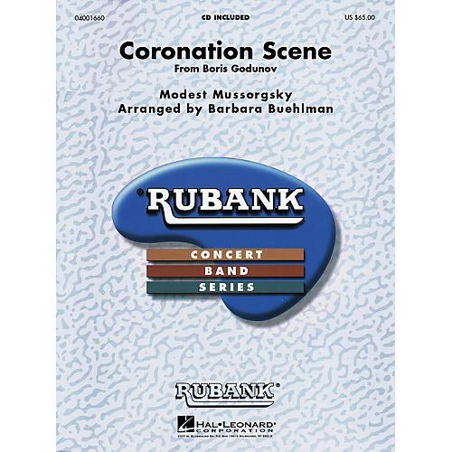Hal Leonard Coronation Scene from Boris Godounoff Concert Band Level 4-6 Arranged by Barbara Buehlman