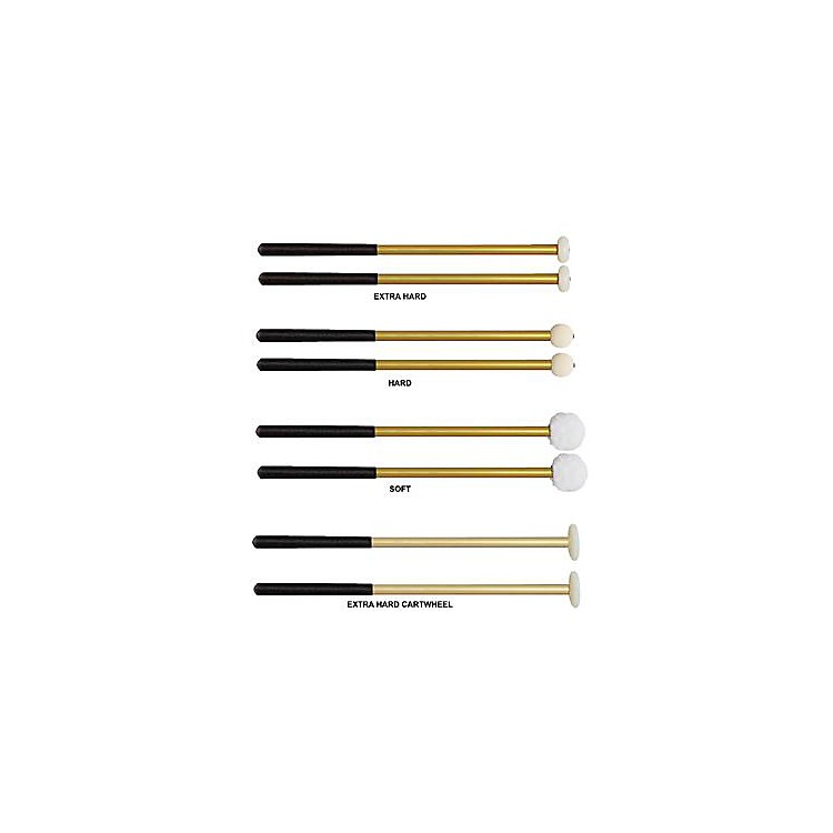 Vic Firth Corpmaster Multi-Tenor Mallets Aluminum Shaft  Soft