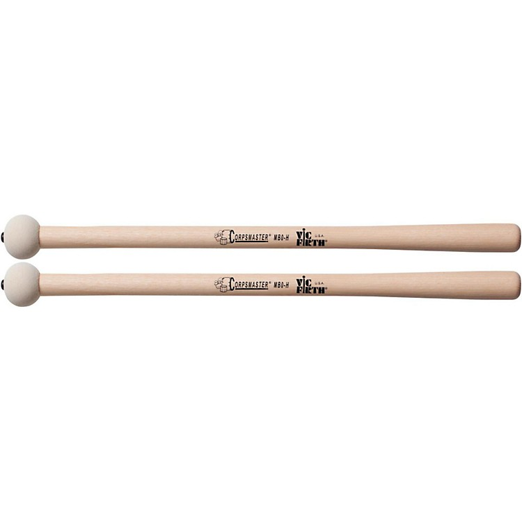 Vic Firth Corpsmaster Marching Bass Mallets Hard Extra Small