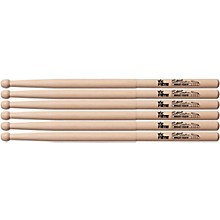 Vic Firth Corpsmaster Marching Drum Stick 3-Pack