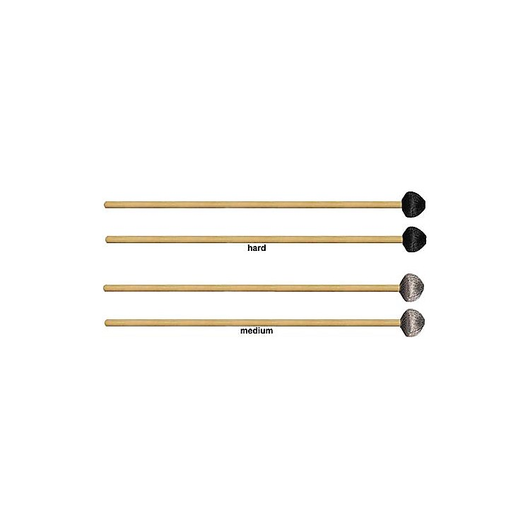 Vic Firth Corpsmaster Rattan Vibe Mallets  Hard