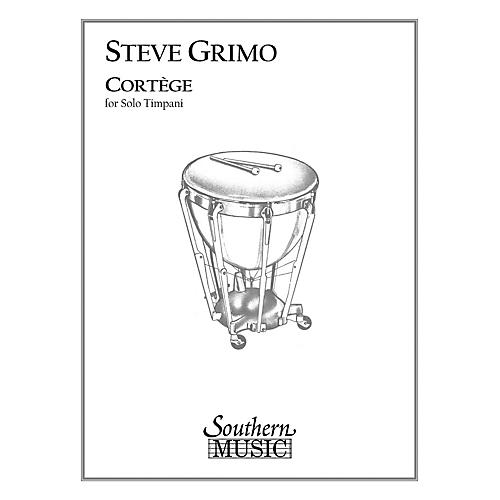 Hal Leonard Cortege (Percussion Music/Timpani - Other Musi) Southern Music Series Composed by Grimo, Steve-thumbnail
