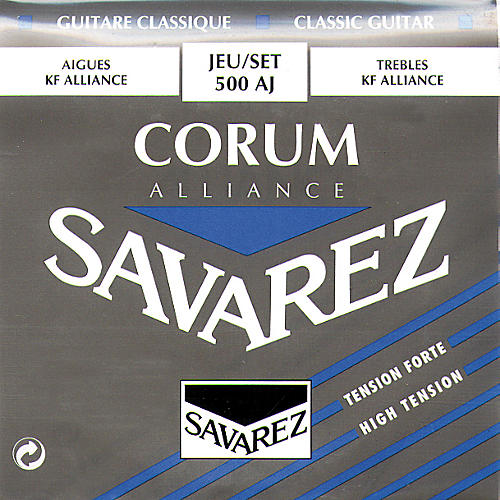 Savarez Corum Alliance 500AJ High Tension Classical Guitar Strings-thumbnail
