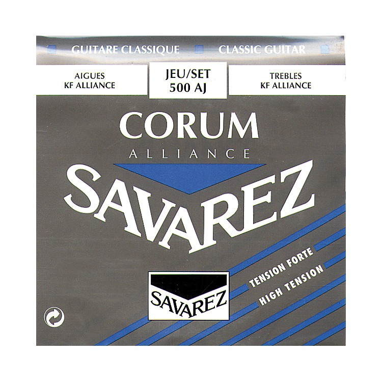 Savarez Corum Alliance 500AJ High Tension Classical Guitar Strings