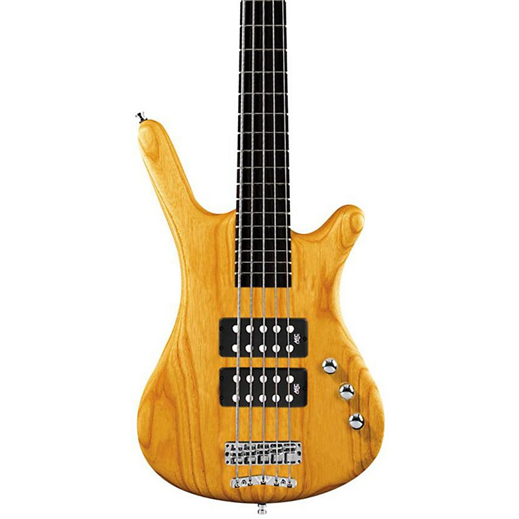 Warwick Corvette Rockbass $$ 5-String Electric Bass Guitar Honey Violin