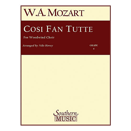 Southern Cosi Fan Tutte (Woodwind Choir) Southern Music Series Arranged by Nilo W. Hovey-thumbnail