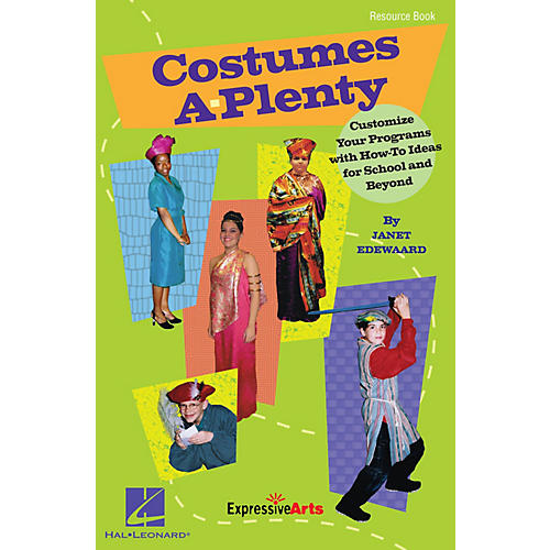 Hal Leonard Costumes A-Plenty (Customize Your Programs With How-To Ideas for School and Beyond) RESOURCE BK-thumbnail