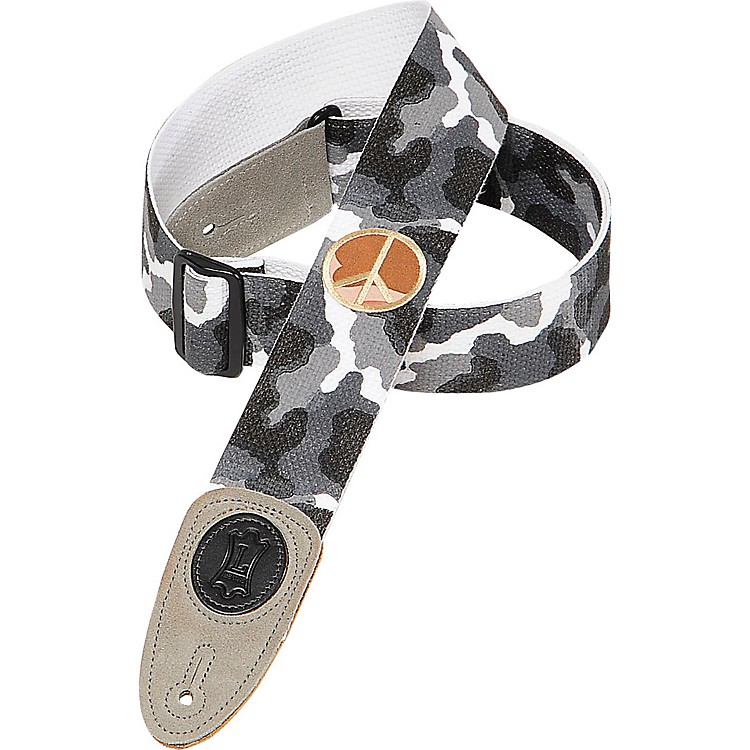 Levy's Cotton Guitar Strap Arctic Camo
