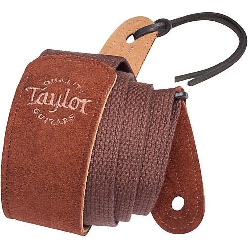 Taylor Cotton Guitar Strap with Suede Ends