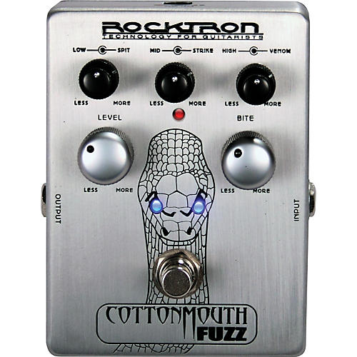 Rocktron Cotton Mouth Fuzz Guitar Effects Pedal