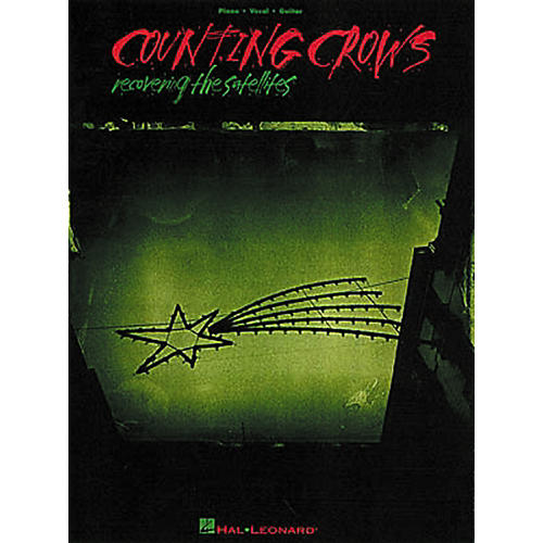 Hal Leonard Counting Crows - Recovering the Satellites Piano, Vocal, Guitar Songbook-thumbnail