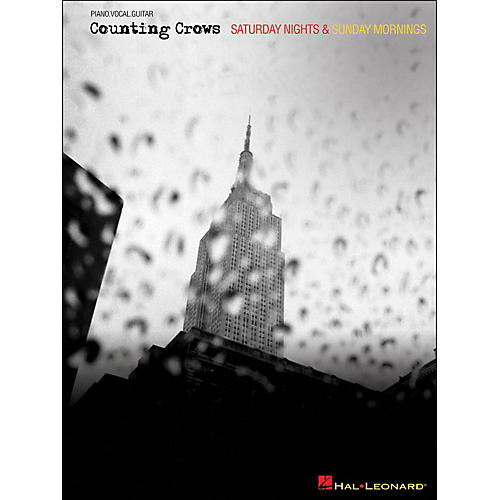 Hal Leonard Counting Crows - Saturday Nights & Sunday Mornings arranged for piano, vocal, and guitar (P/V/G)