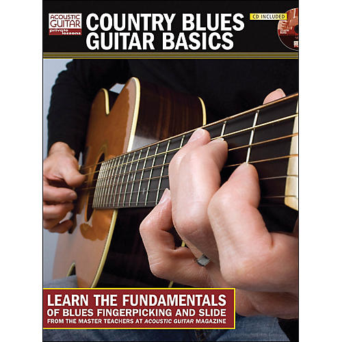 Hal Leonard Country Blues Guitar Basics Book/CD)
