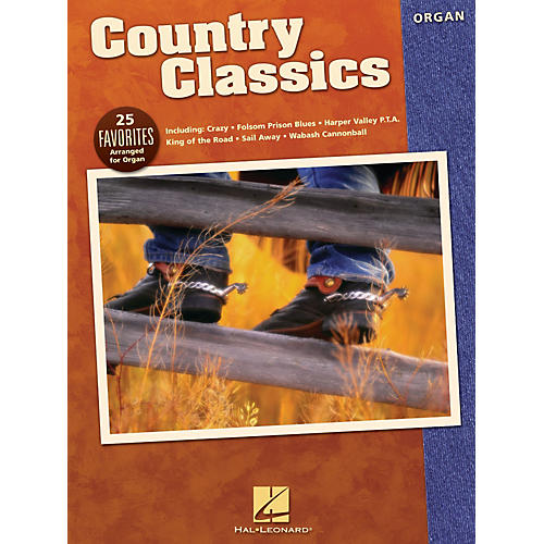 Hal Leonard Country Classics Organ Adventure Series Performed by Various-thumbnail