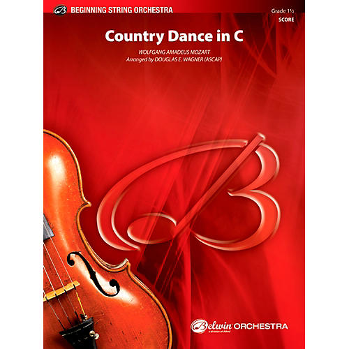 Alfred Country Dance in C String Orchestra Grade 1.5 Set-thumbnail