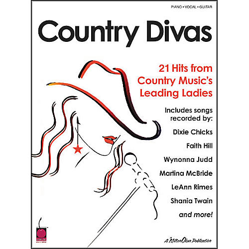 Cherry Lane Country Divas Piano, Vocal, Guitar Songbook