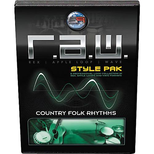 Sonic Reality Country Folk Rhythms Style Pak