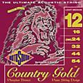 Rotosound Country Gold Light Medium Phosphor Bronze Acoustic Guitar Strings-thumbnail