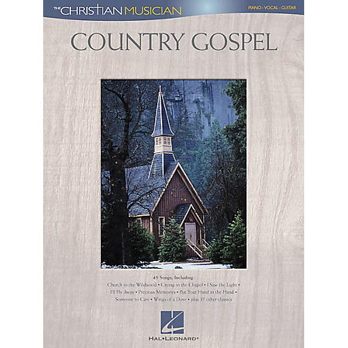 Hal Leonard Country Gospel Piano/Vocal/Guitar Songbook-thumbnail