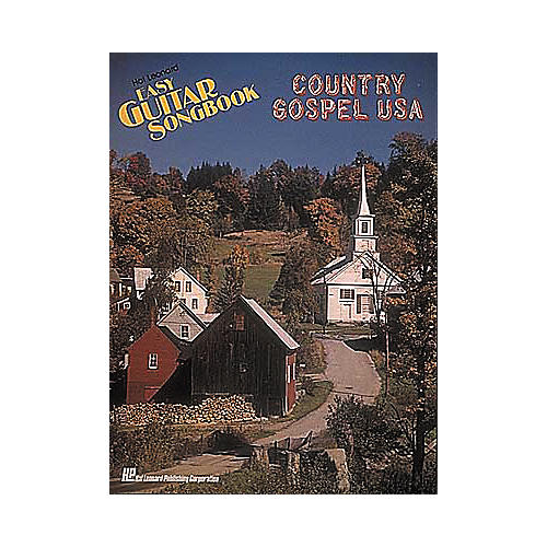 Hal Leonard Country/Gospel U.S.A. Easy Guitar Book