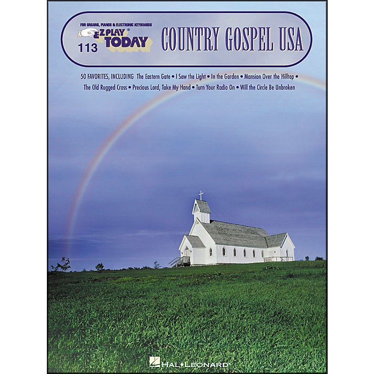 Hal Leonard Country Gospel USA E-Z Play 113