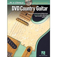 Hal Leonard Country Guitar At A Glance Book/DVD