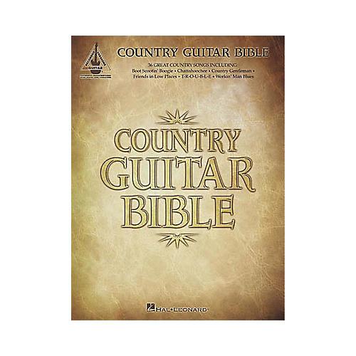 Hal Leonard Country Guitar Bible Tab Book