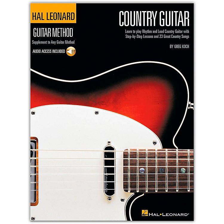 Hal LeonardCountry Guitar Method (Book/CD)