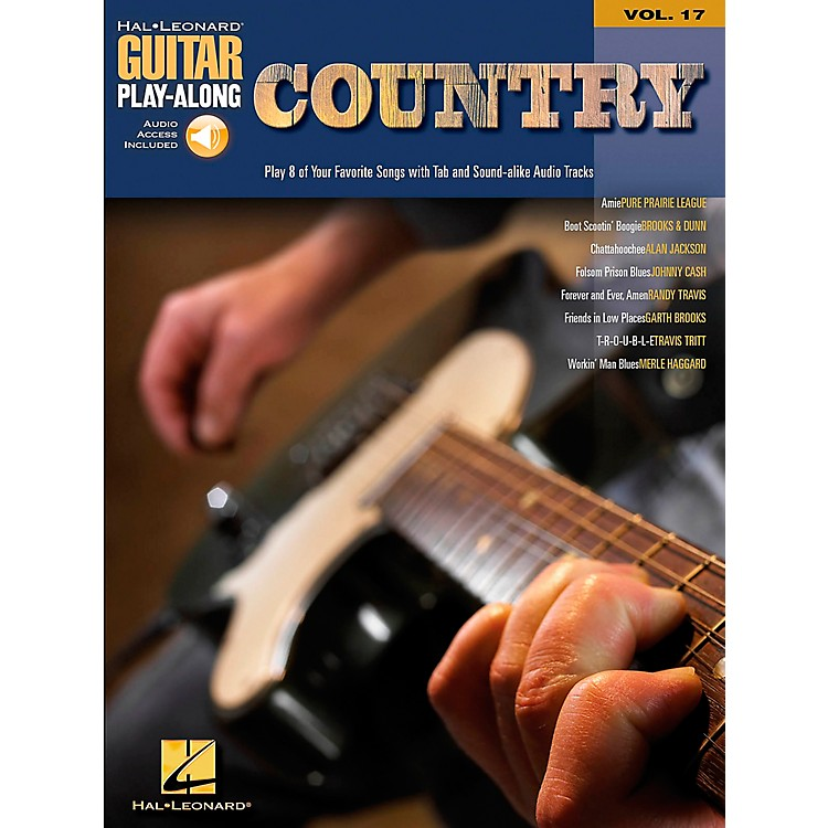 Hal Leonard Country Guitar Play-Along Series Book with CD