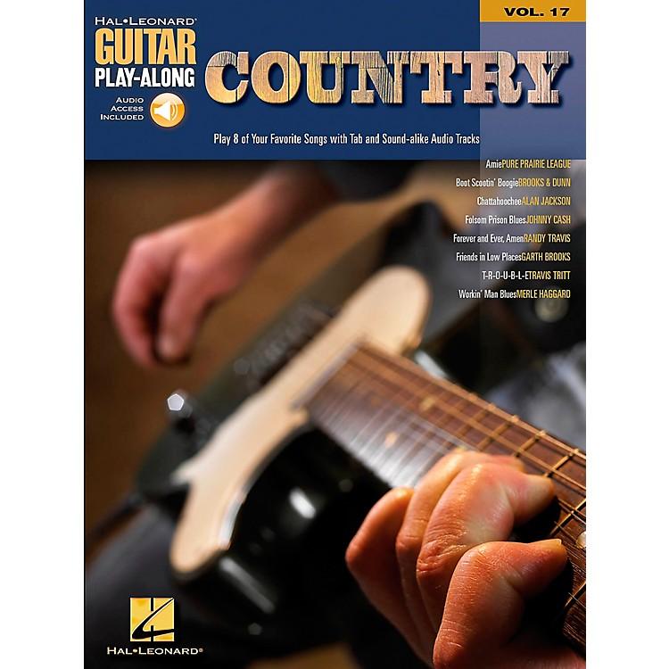 Hal LeonardCountry Guitar Play-Along Series Book with CD