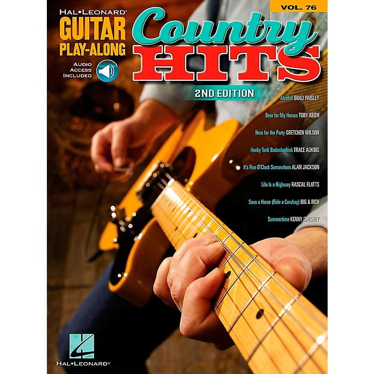 Hal LeonardCountry Hits - Guitar Play-Along, Volume 76 (Book/CD)
