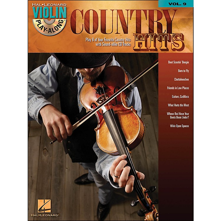 Hal Leonard Country Hits Violin Play-Along Volume 9 (Book/CD)