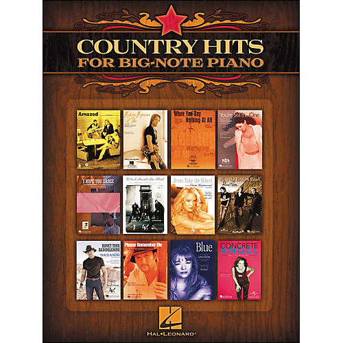 Hal Leonard Country Hits for Big Note Piano