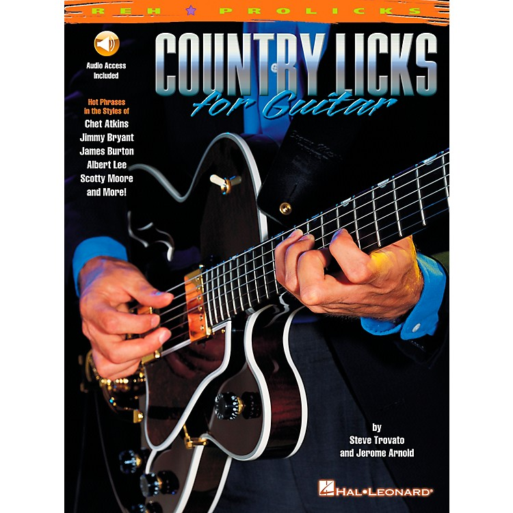 REH Country Licks for Guitar (Book/CD)